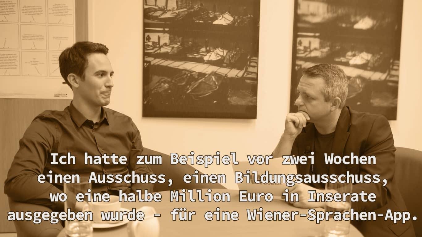 Christoph Wiederkehr - Politiker der Woche