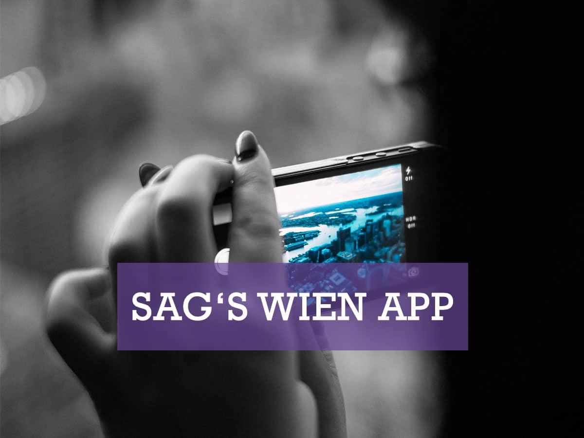 Sag's Wien App