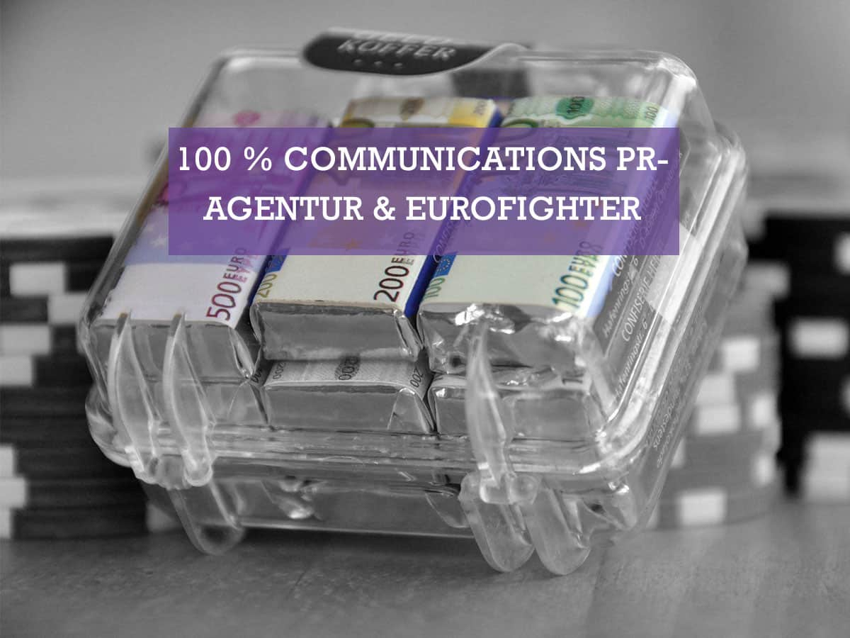 100 % Communications PR-Agentur GmbH & Eurofighter
