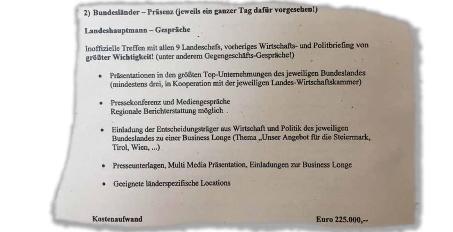 100 % Communications PR-Agentur-GmbH - Landeshauptmann Termine