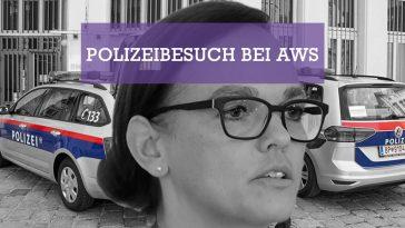 Hammerschmid - Polizeibesuch bei Förderbank AWS - Foto LPD Wien BKA - Bundespressedienst - Regina Aigner