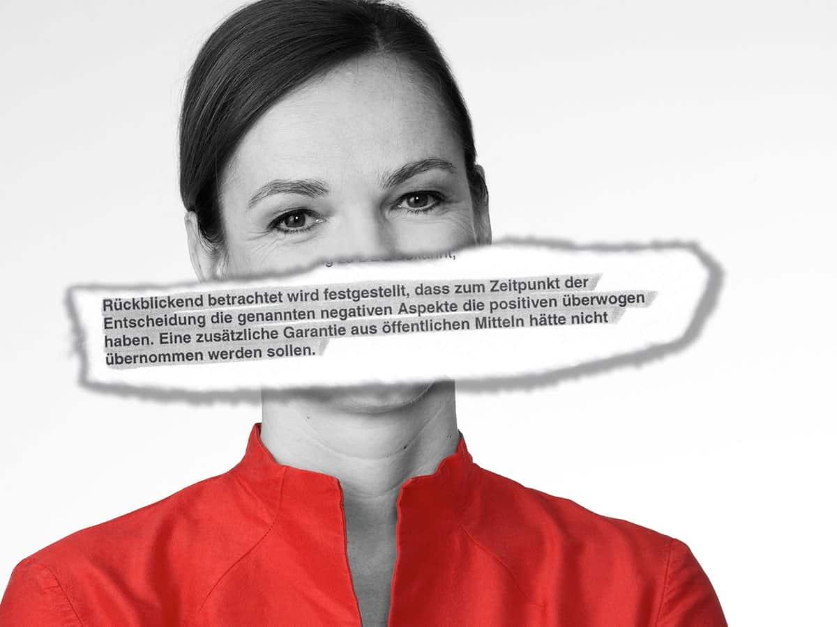Sonja Hammerschmid - Vetmeduni Daniela Beranek mit IR Einschätzung