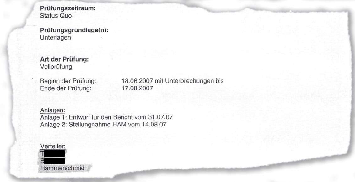 Sonja Hammerschmid am Mailverteiler der Internen Revision