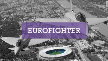 Eurofighter über Wien - Foto Bundesheer Markus Zinner