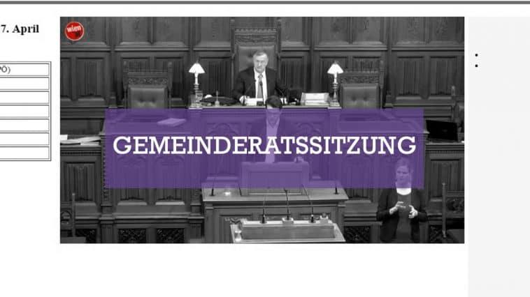 21. Gemeinderatssitzung am 7. April 2017 - Livestream