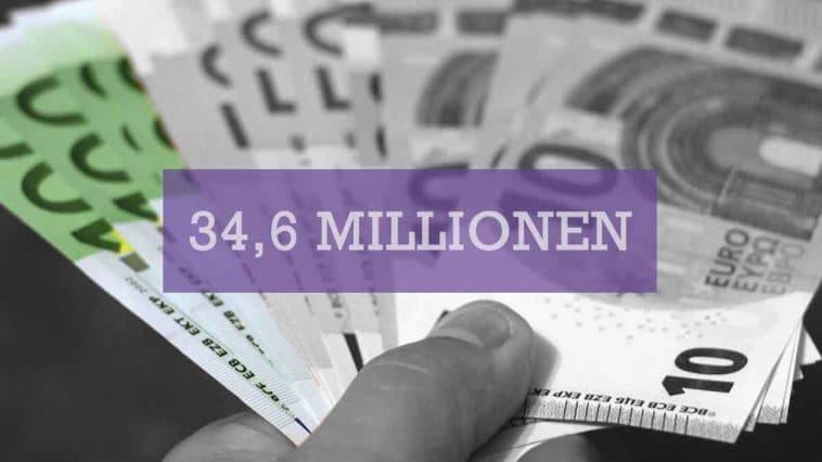 34,6 Mio. Euro kostet öffentliche Werbung im ersten Quartal