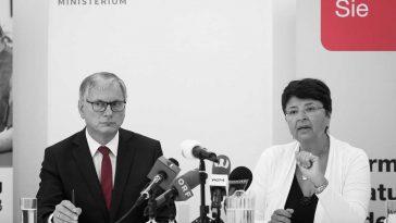 Alois Stöger und Renate Brauner - Foto: David-Bohmann | PID