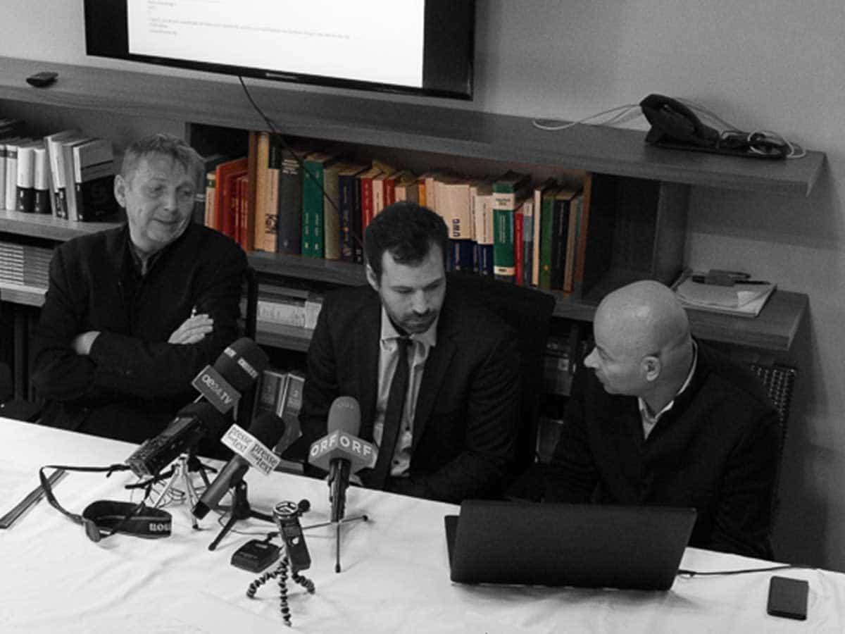 Pressekonferenz List - Fass ohne Boden - Fred Stampach