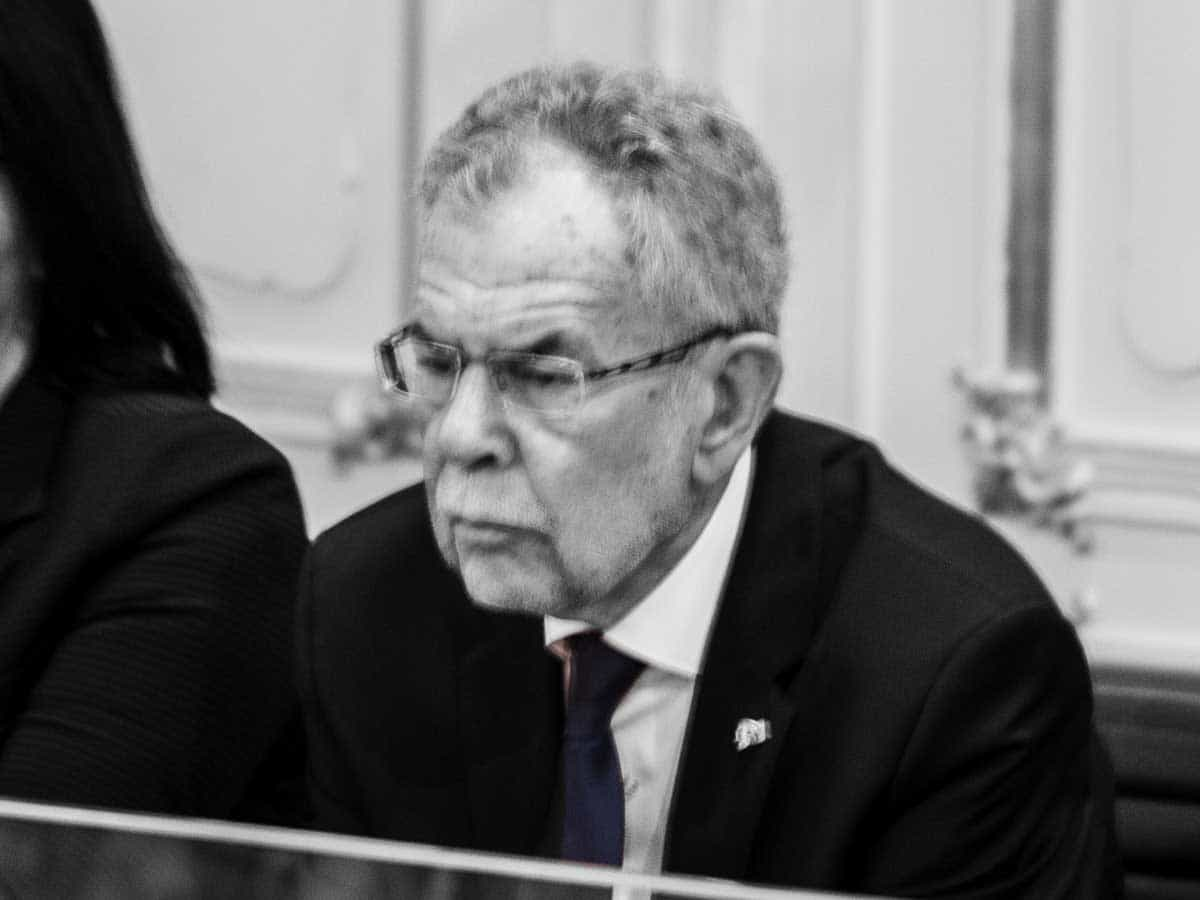 Bundespräsident Alexander van der Bellen - Fass ohne Boden