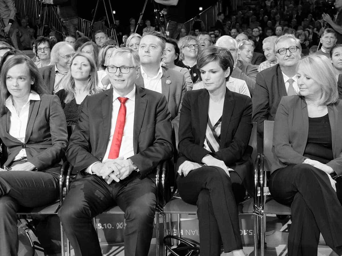 SPÖ-Aufschrei - SPÖ-Wahlkampfauftakt - Claudio Schiesl