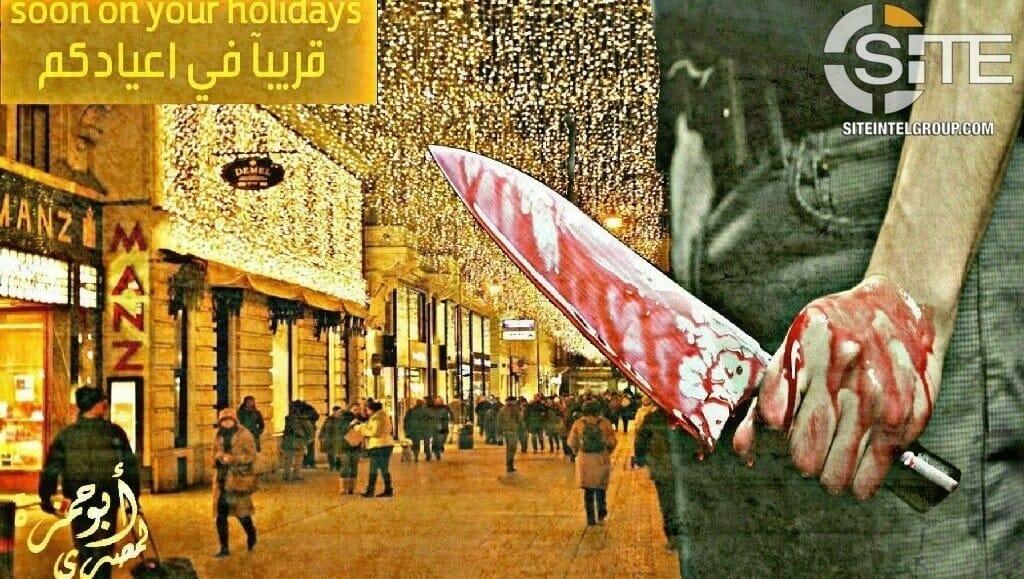 IS droht mit Terror in Wien - Foto siteintelgroup.com