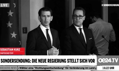 Regierungsprogramm - Screenshot oe24.at