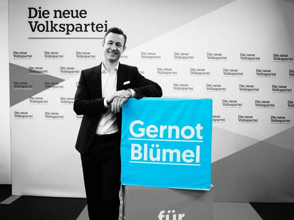Gernot Blümel - Foto: Die neue Volkspartei