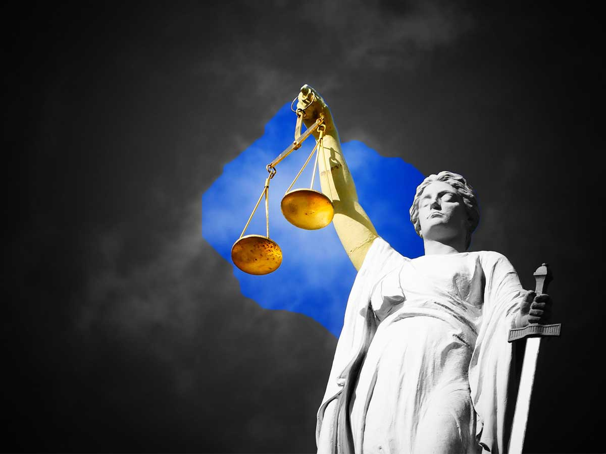 Motivsujet Justiz
