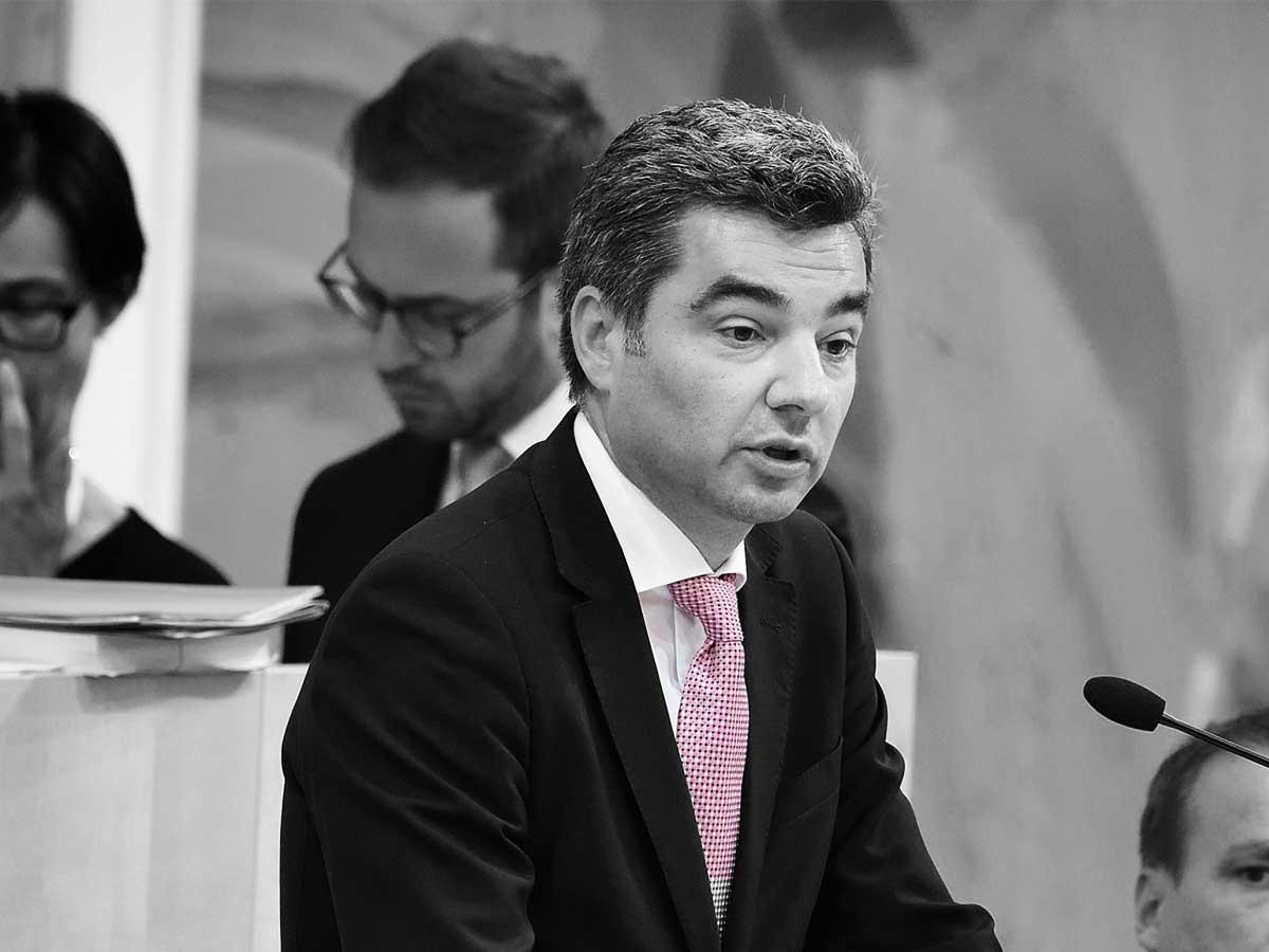 Innenminister Wolfgang Peschorn - Parlamentsdirektion - Johannes Zinner