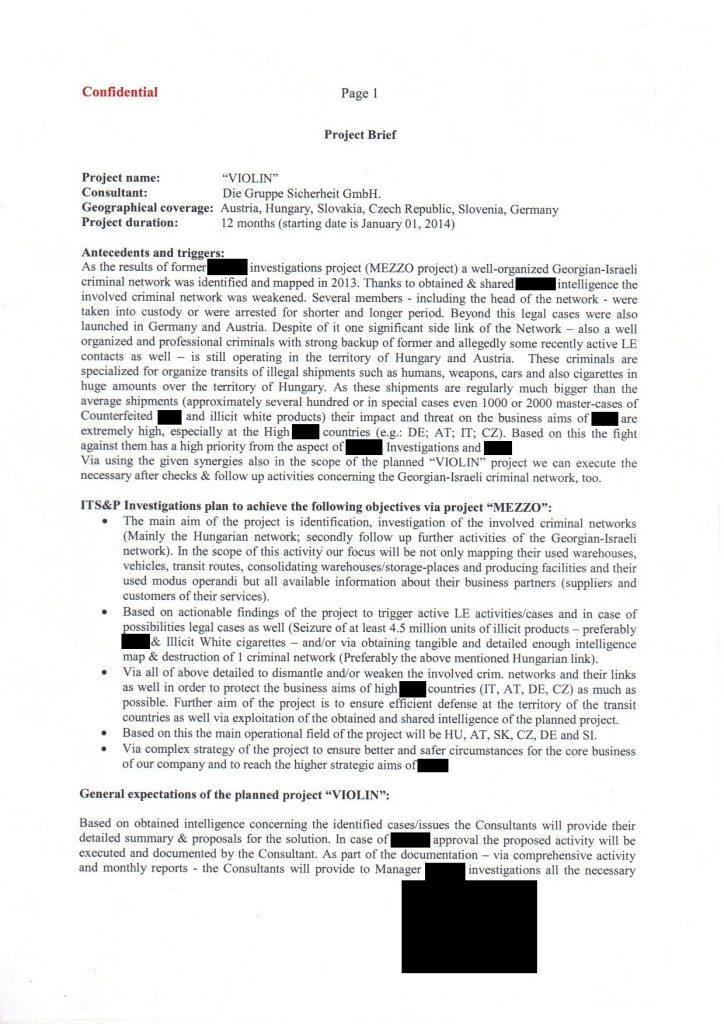 Projekt Violin - Project Brief - Ausgangslage Seite_1 - Foto: Fass ohne Boden