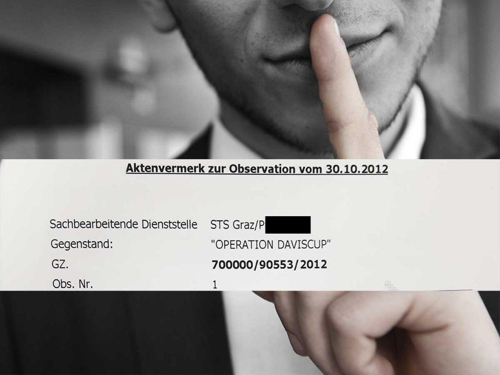 Projekt Mezzo - Operation Daviscup - Verschlussakt - Foto Jeremias Münch - Adobe stock