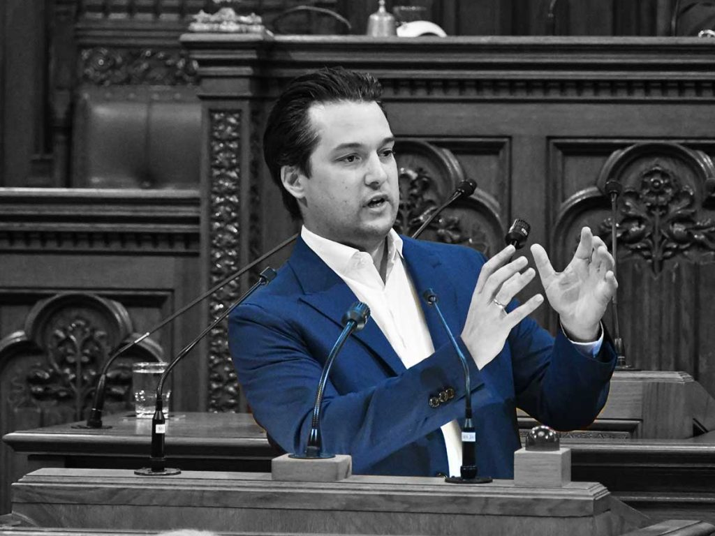 Dominik Nepp - Foto C. Franz Haas - FPÖ Wien