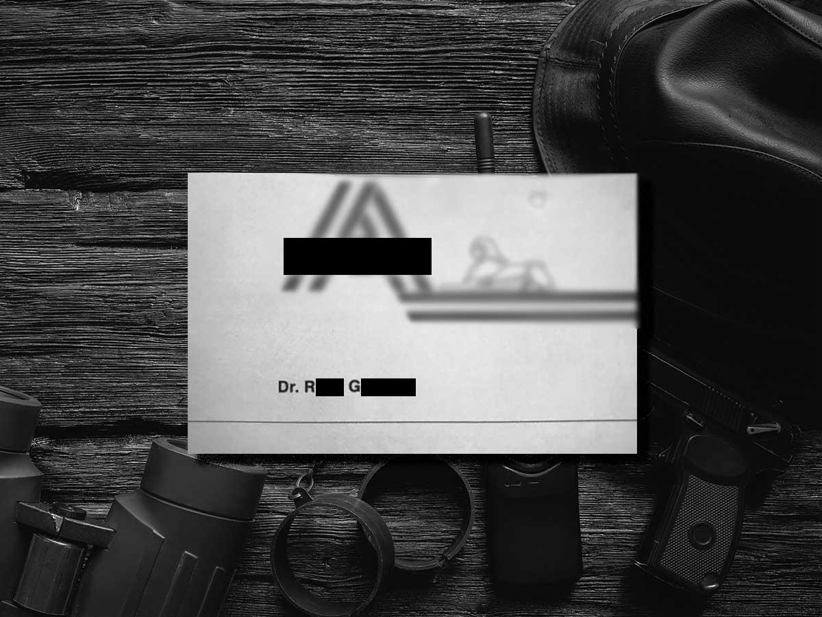 Kasachischer Ex-Militärattaché als Security und Dolmetscher