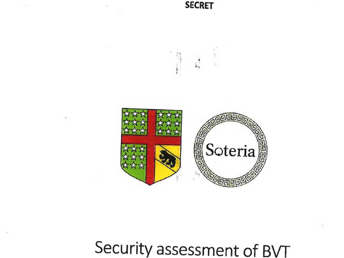 "BVT-Supergau: Streng geheimes ""Berner Club""-Dokument geleakt"