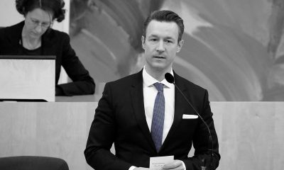 Finanzminister Gernot Blümel - Thomas Blümel - Parlamentsdirektion - Thomas Topf