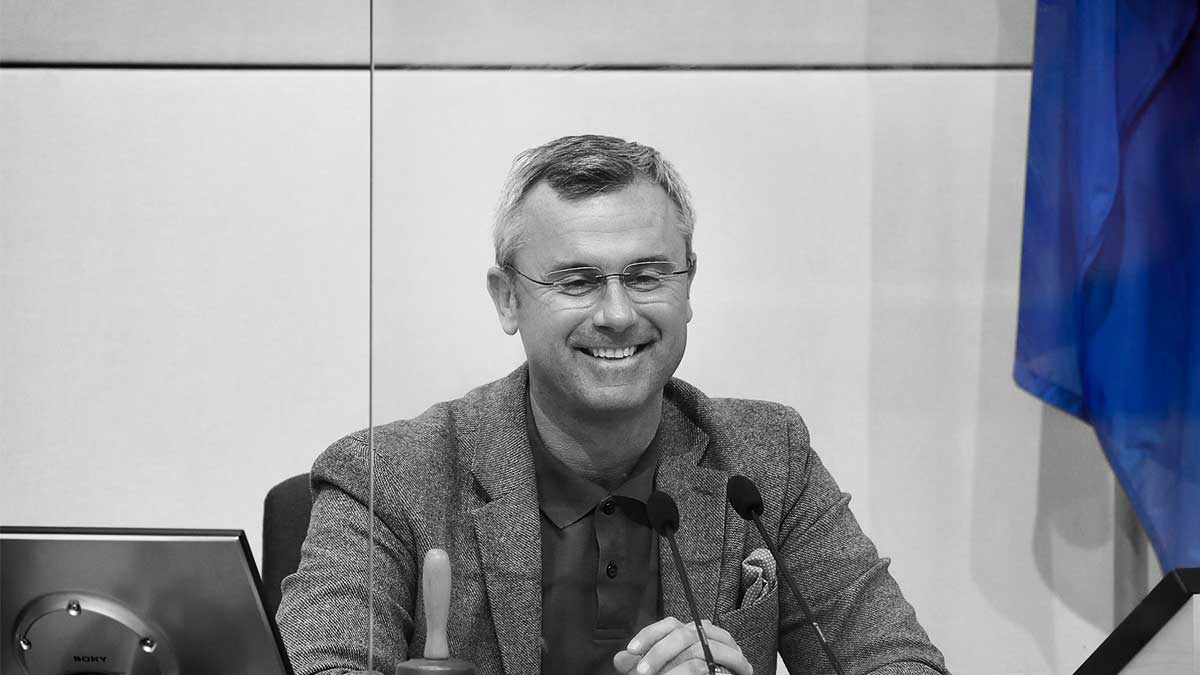 FPÖ-Bundesparteiobmann Norbert-Hofer - Parlamentsdirektion - Johannes-Zinner